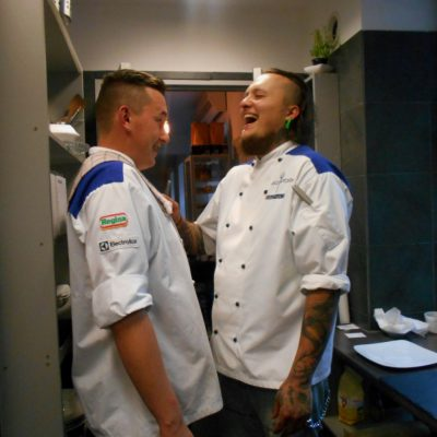 """PHOTOREPORT/ Guest social network of Our Chef at Roland Knittel (Hell's Kitchen) in """"Znasz Ich Cafe – Bistro"""""""