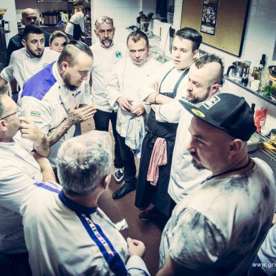"PHOTOREPORT/ Our chef ""SZROMU"" during the project ""WARIACJE KULINARNE"" – Bieszczady 2017"