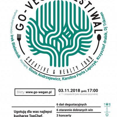 """VIDEO I FOTORELACJA / I edycja Festiwalu """"Go Wegan"""" – Nasz Chef wśród najlepszych"""