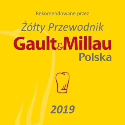 "ALSO ANOTHER WE ARE IN THE YELLOW GUIDE ""GAULT & MILLAU"" – 2019 – WE HAVE A CAP !!!"