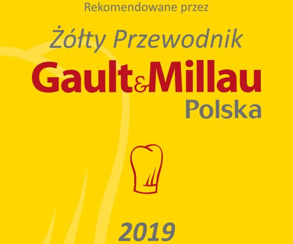GAULT & MILLAU 2019 - POLSKA